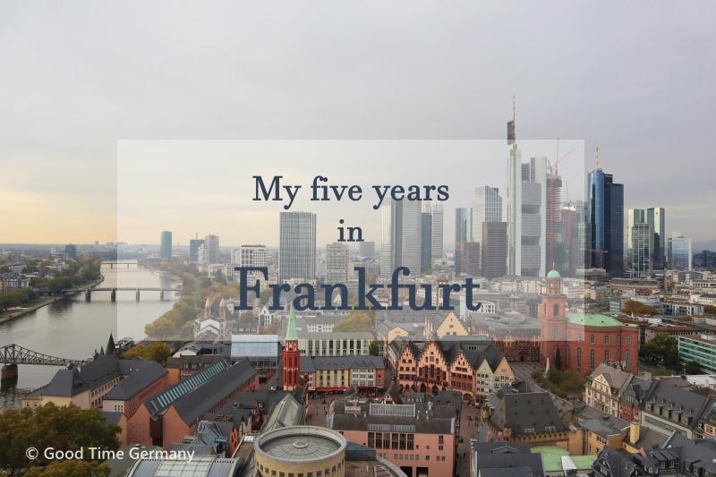南ドイツへ引っ越し フランクフルトで過ごした5年半を振り返ってみました